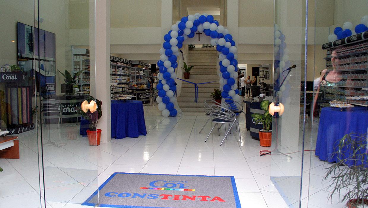 Interior da Loja da Av. Dores em 2008