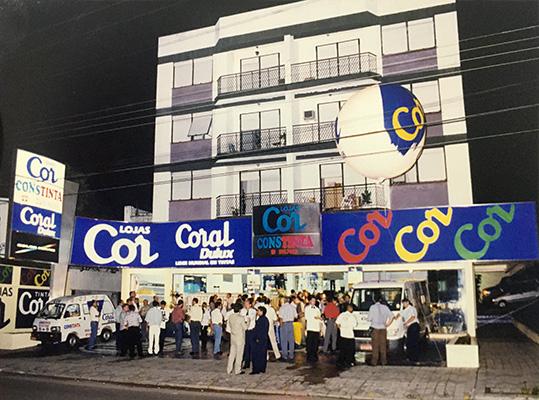Inauguração da loja na Avenida Medianeira em Santa Maria
